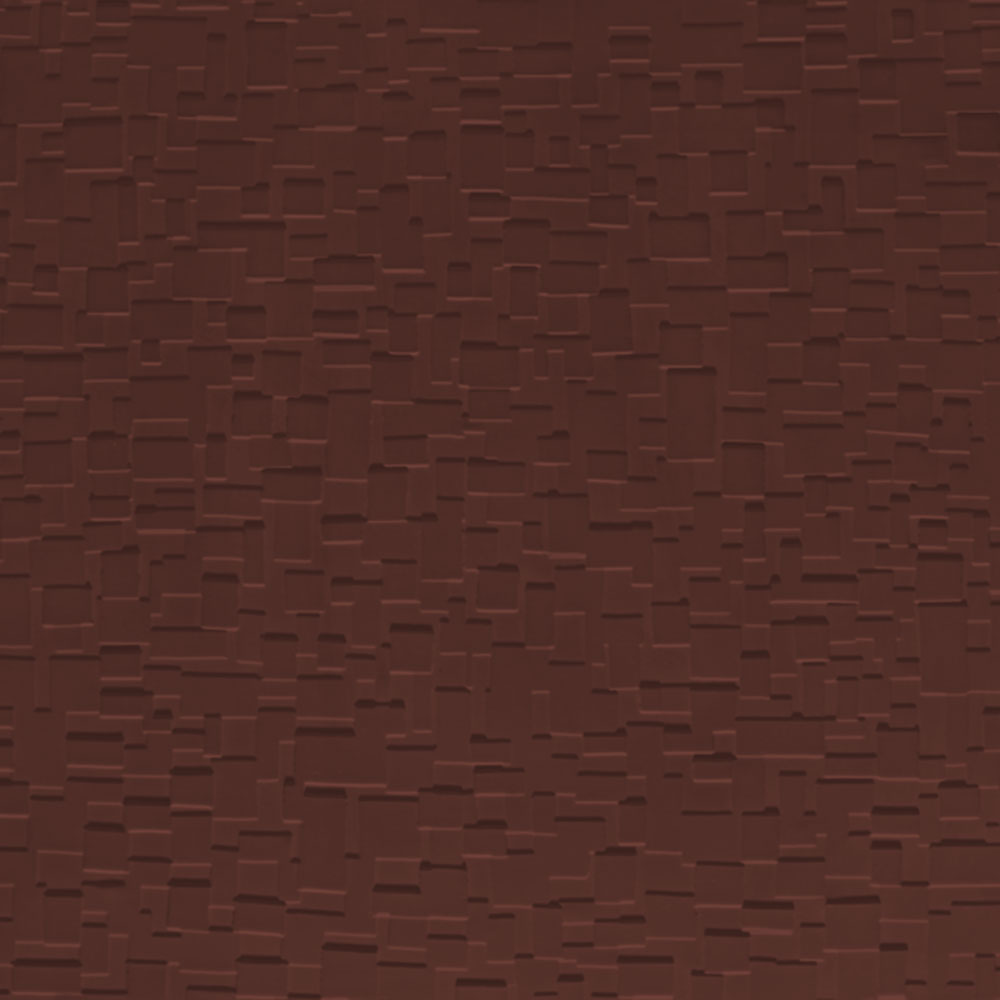 Johnsonite Solid Colors Cubis Surface 24 x 24 .125 Espresso