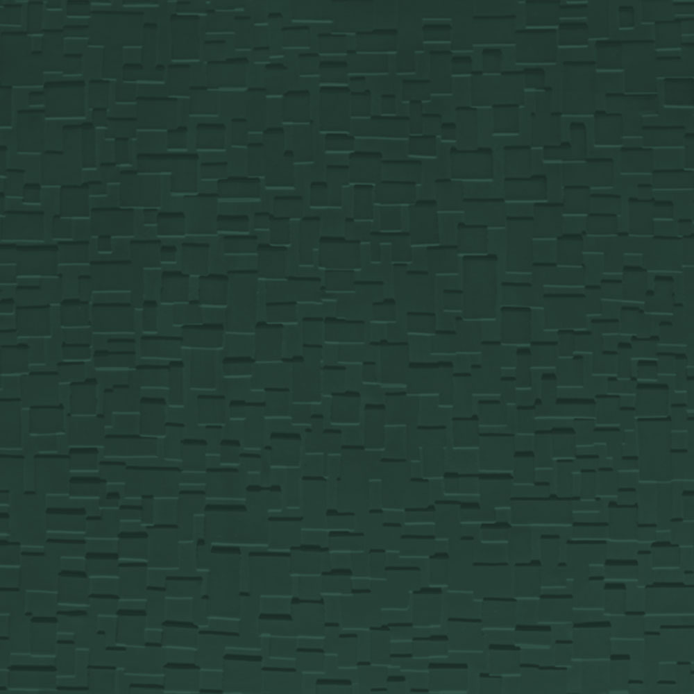 Johnsonite Solid Colors Cubis Surface 24 x 24 .125 Hunter Green