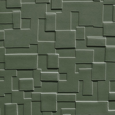 Johnsonite Solid Colors Cubis Surface 24 x 24 .125 Jaded