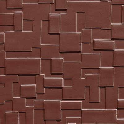 Johnsonite Solid Colors Cubis Surface 24 x 24 .125 Rustic