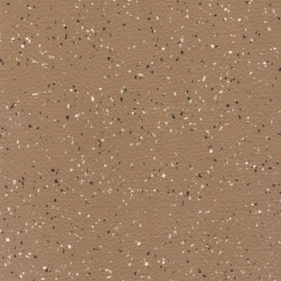 Johnsonite MicroTone Speckled Rice Paper Texture 24 x 24 .080 Chocolate Cream