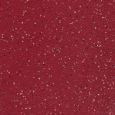 Johnsonite MicroTone Speckled Rice Paper Texture 24 x 24 .080 Red Caboose