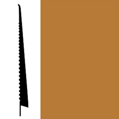 Johnsonite Tightlock Wallbase for Carpet 4 1/2 Copper Penny