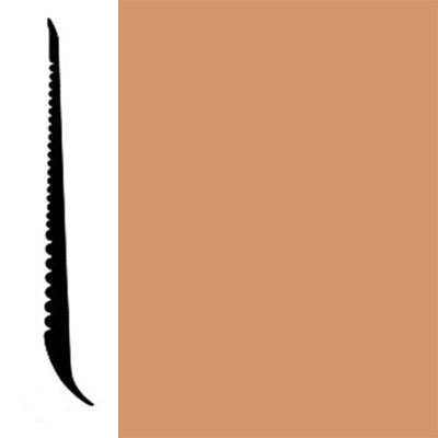 Johnsonite Tightlock Wallbase for Resilient 4 3/8 Butterscotch