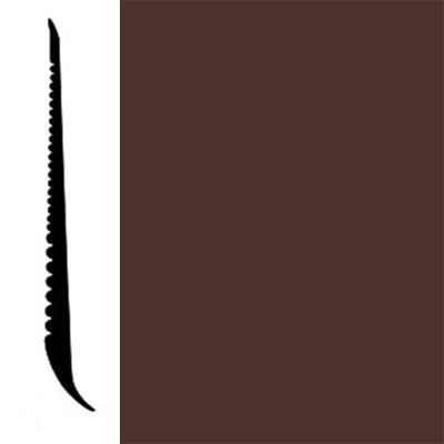 Johnsonite Tightlock Wallbase for Resilient 4 3/8 Cinnamon