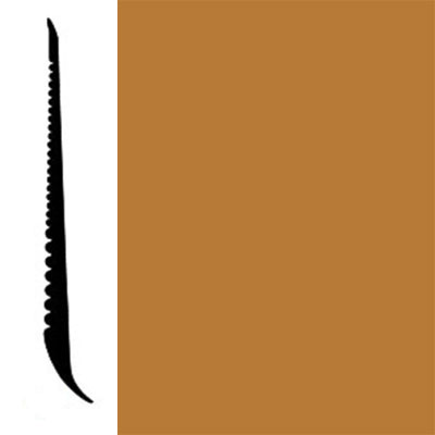 Johnsonite Tightlock Wallbase for Resilient 4 3/8 Copper Penny