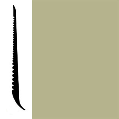 Johnsonite Tightlock Wallbase for Resilient 4 3/8 Iguana