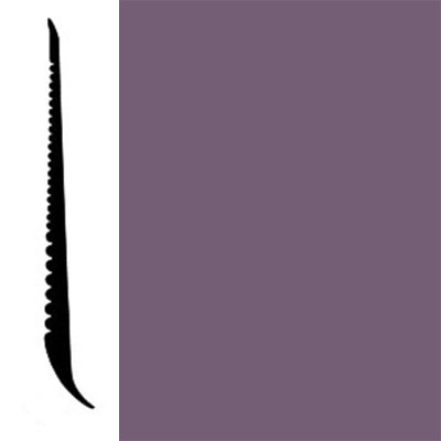 Johnsonite Tightlock Wallbase for Resilient 4 3/8 Wood Violet