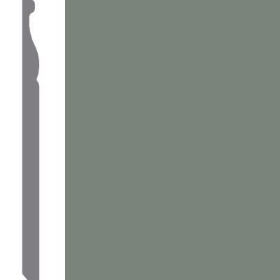 Mannington Wall Base Edge Effects Regal 5 1/4 Frosted Jade