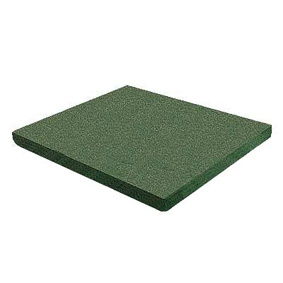 RB Rubber Products Bounce Back - 3 Feet Fall Flat Tile Cascade Green 6001340600CT