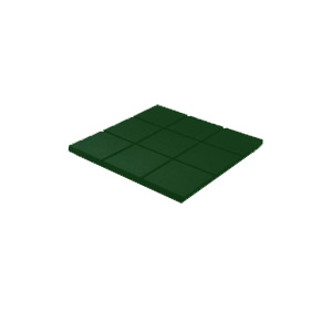 RB Rubber Products Ballistic Tiles Green 63-1120-06-0001