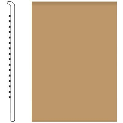 Roppe 700 Series Wall Base 6 (No Toe Base) Flax 632