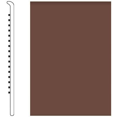 Roppe 700 Series Wall Base 6 (No Toe Base) Russet 181