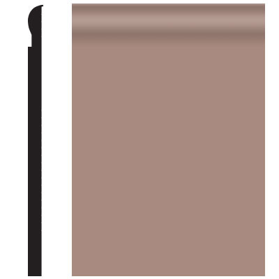 Roppe Contours Wall Base 85 Fashion 4.25 Spice