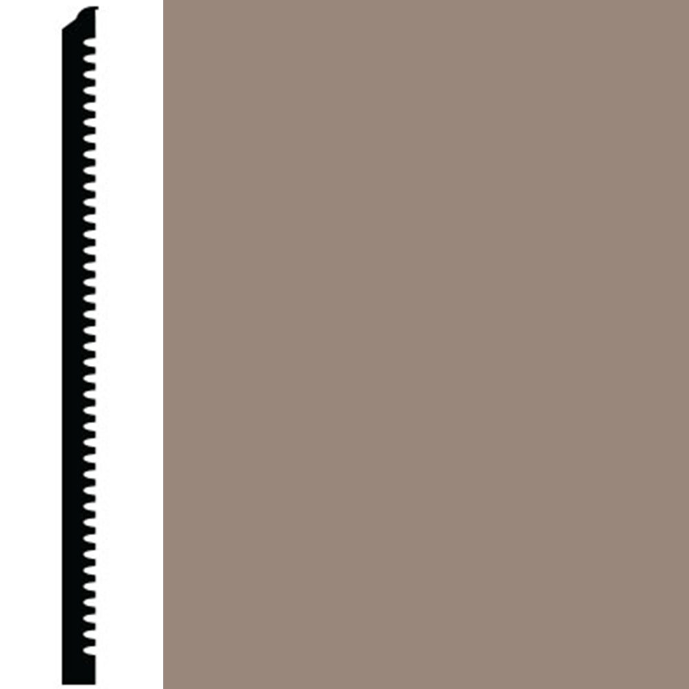 Roppe Contours Wall Base 65 Vertical 3 Fawn
