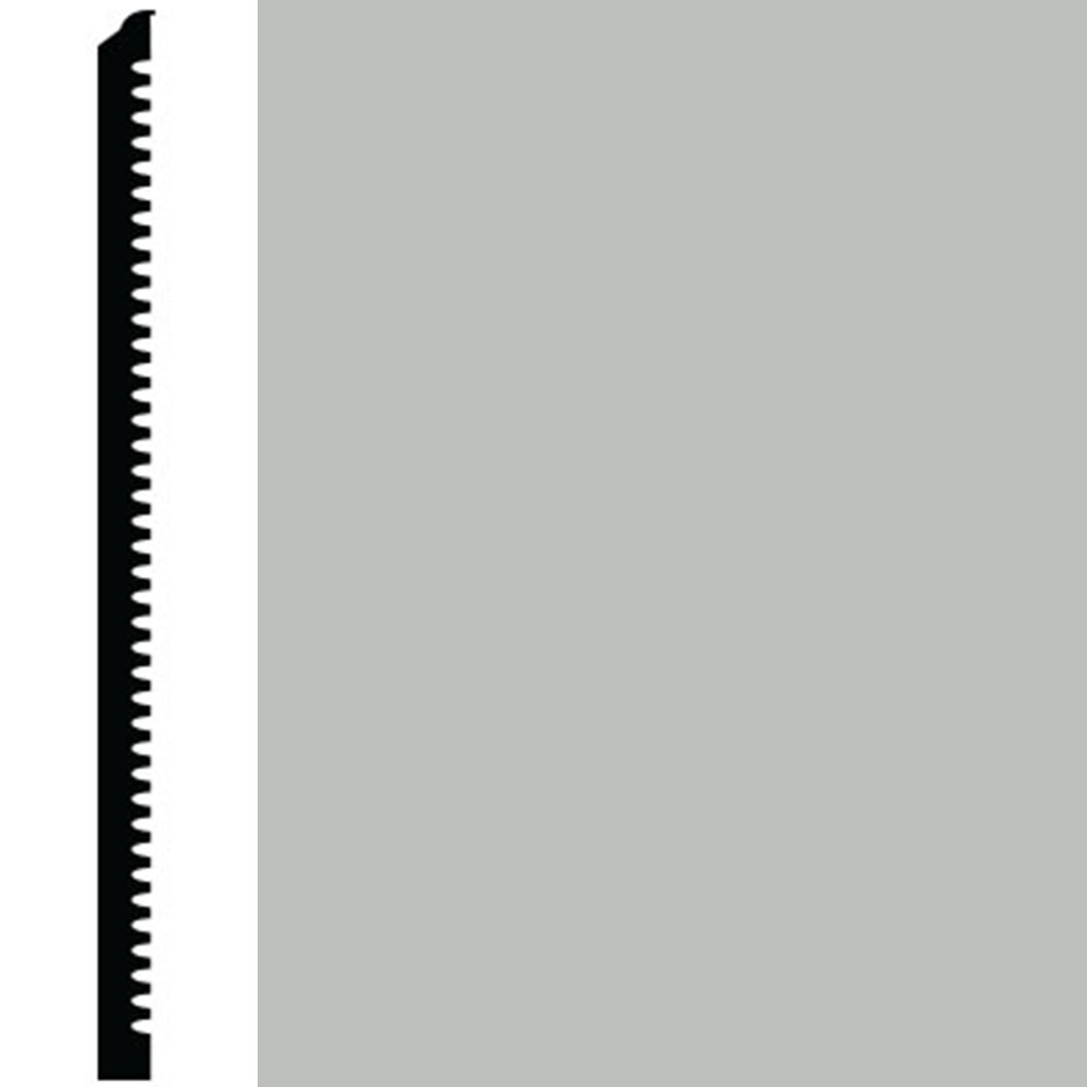 Roppe Contours Wall Base 65 Vertical 3 Light Gray