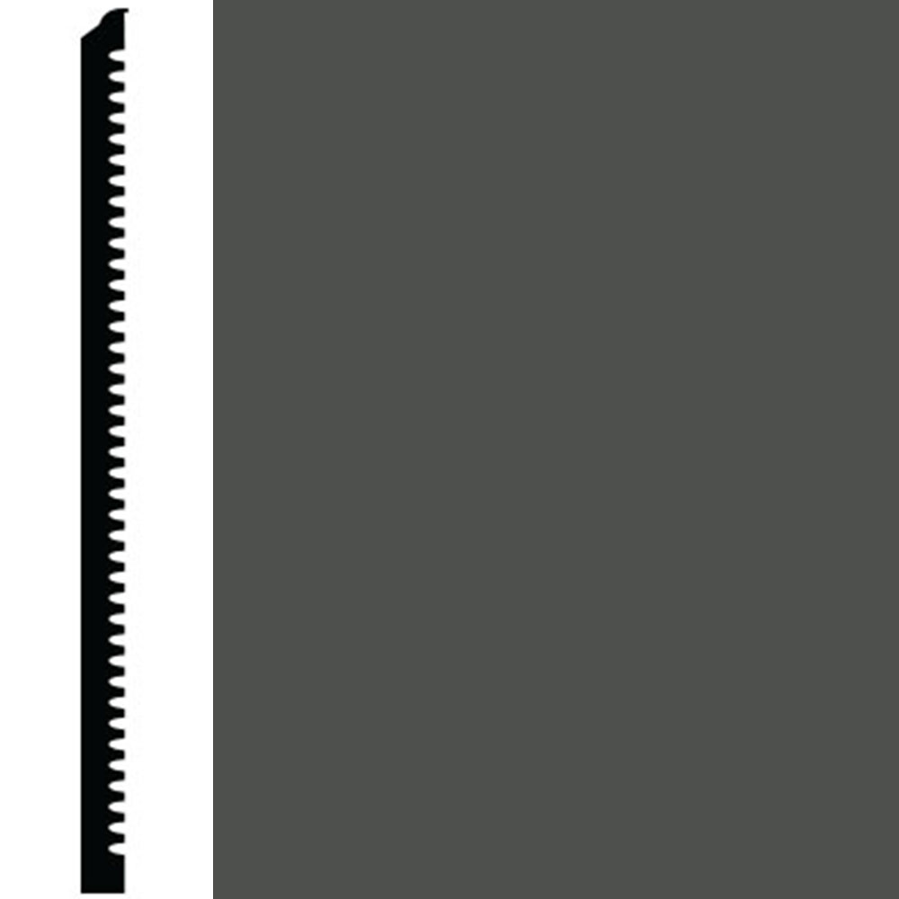 Roppe Contours Wall Base 65 Vertical 4.63 Black Brown