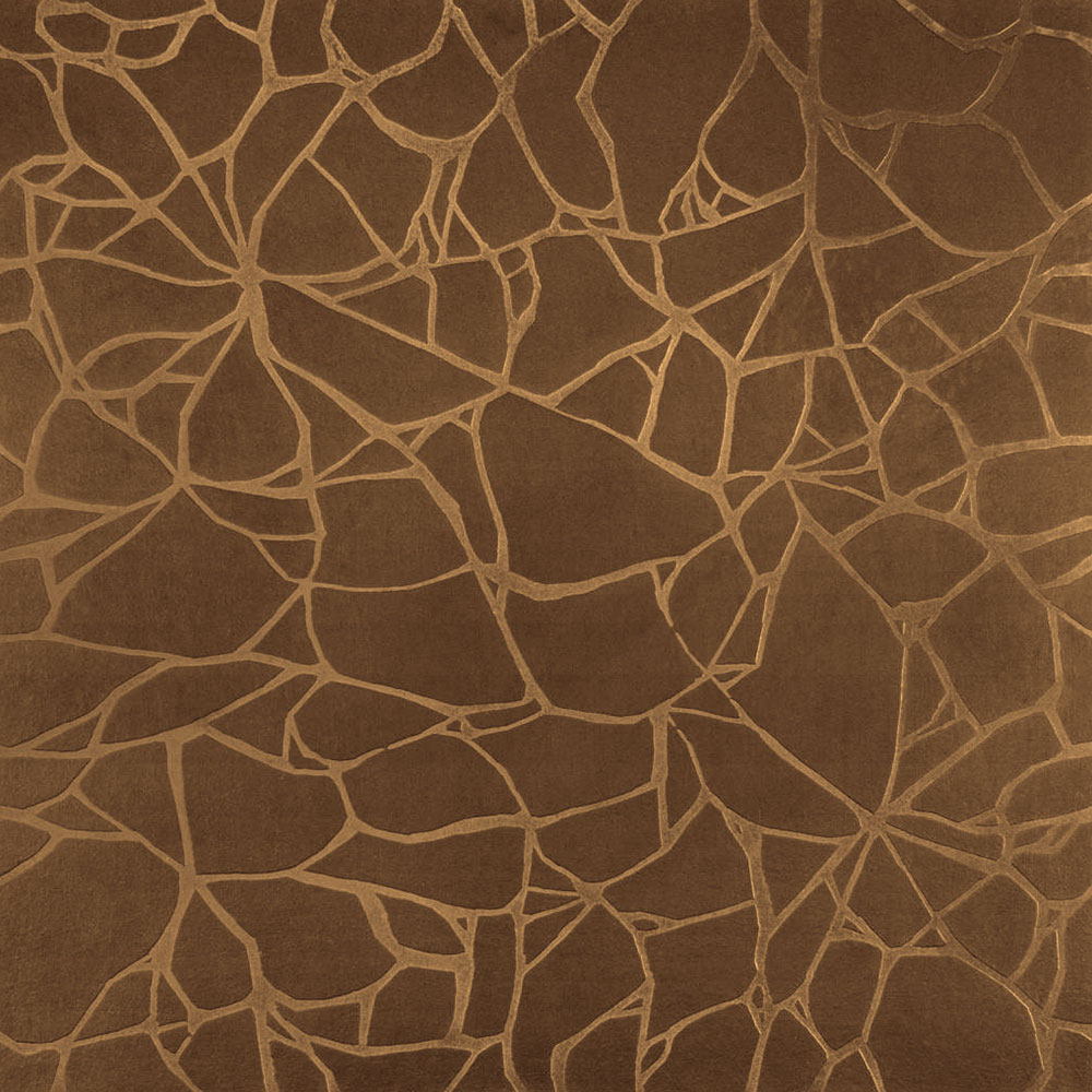 Roppe Dimensions Tile - Crackled Design Bronze