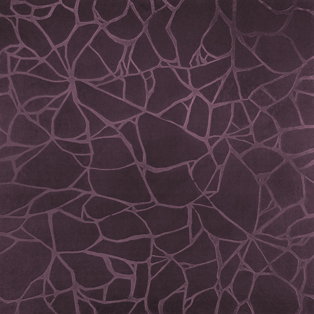 Roppe Dimensions Tile - Crackled Design Burgundy