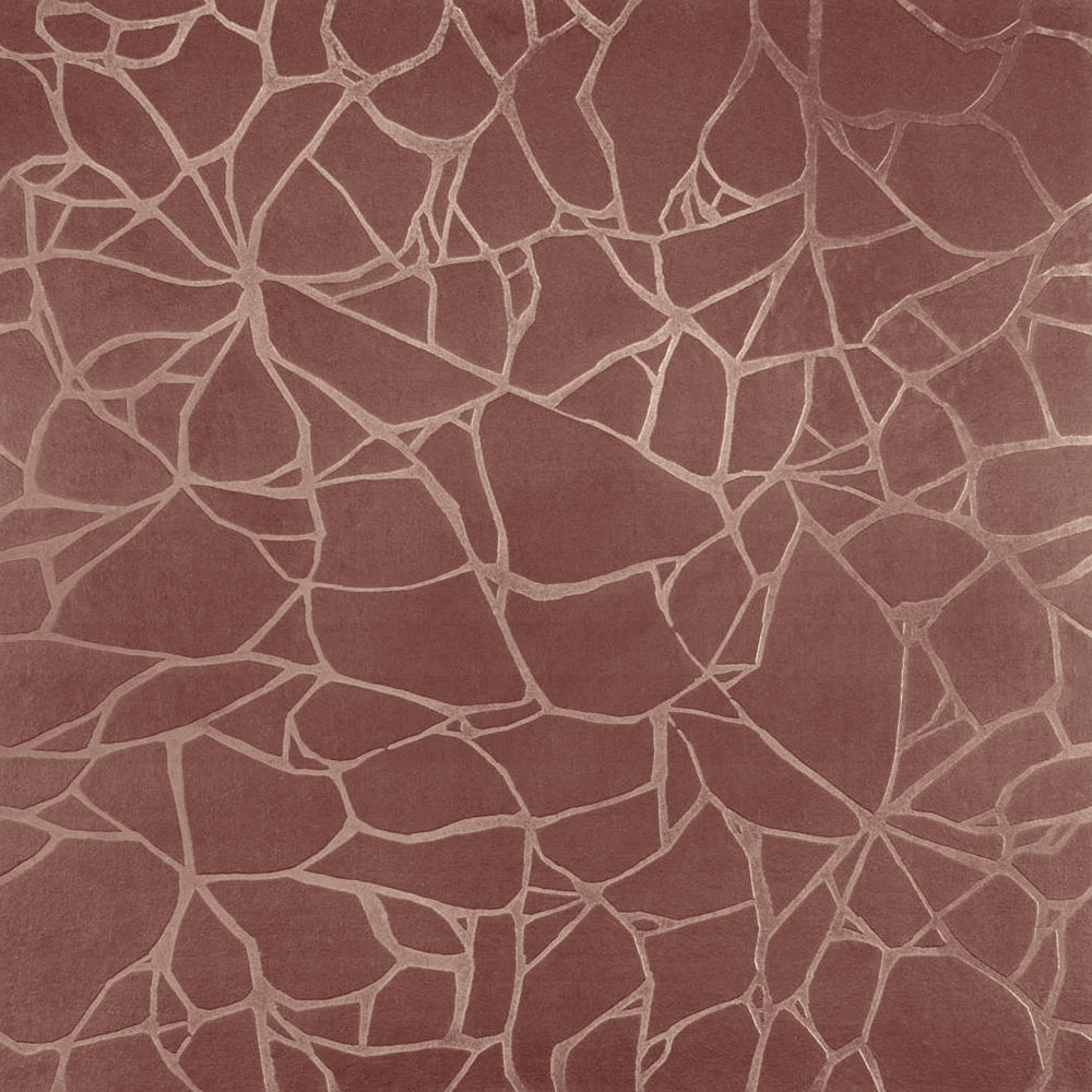 Roppe Dimensions Tile - Crackled Design Golden Honey