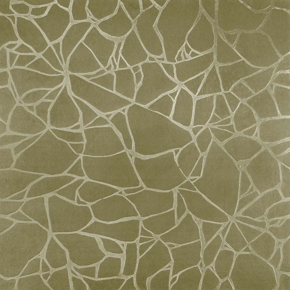 Roppe Dimensions Tile - Crackled Design Moss