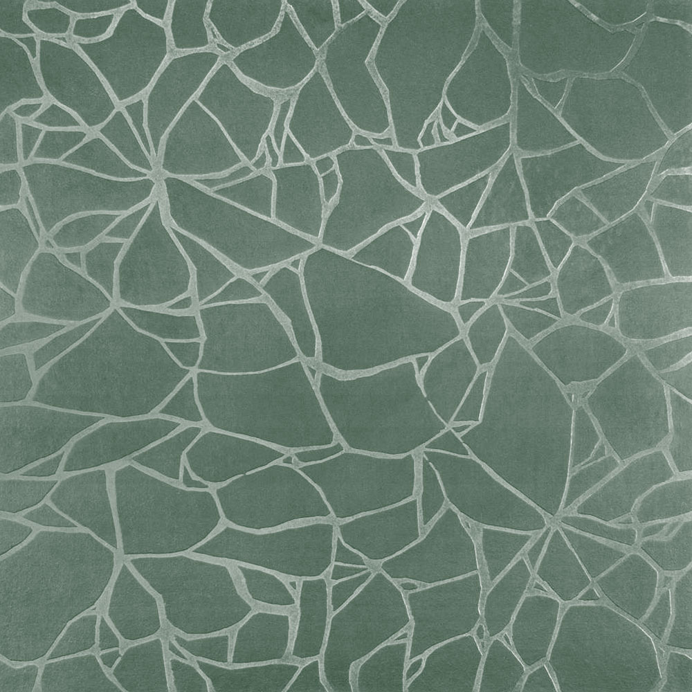 Roppe Dimensions Tile - Crackled Design Pistachio