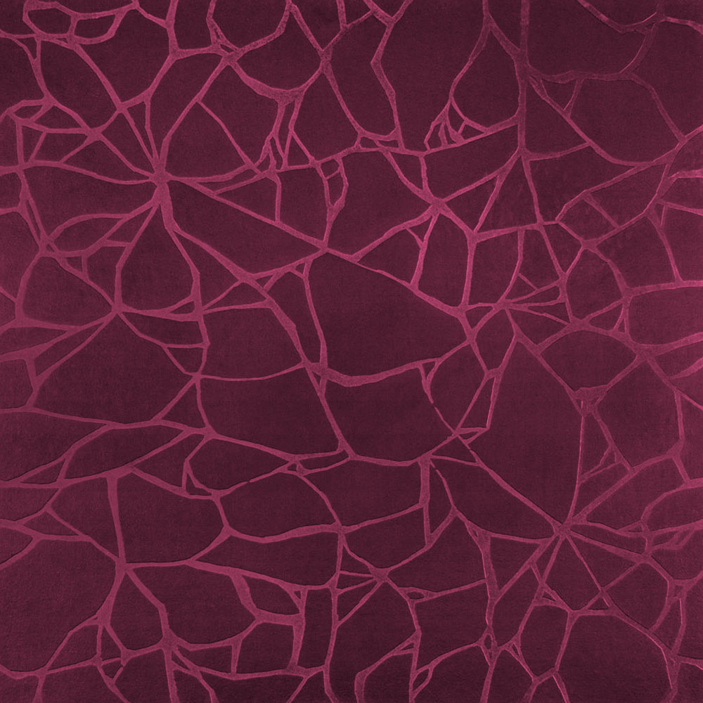 Roppe Dimensions Tile - Crackled Design Plum