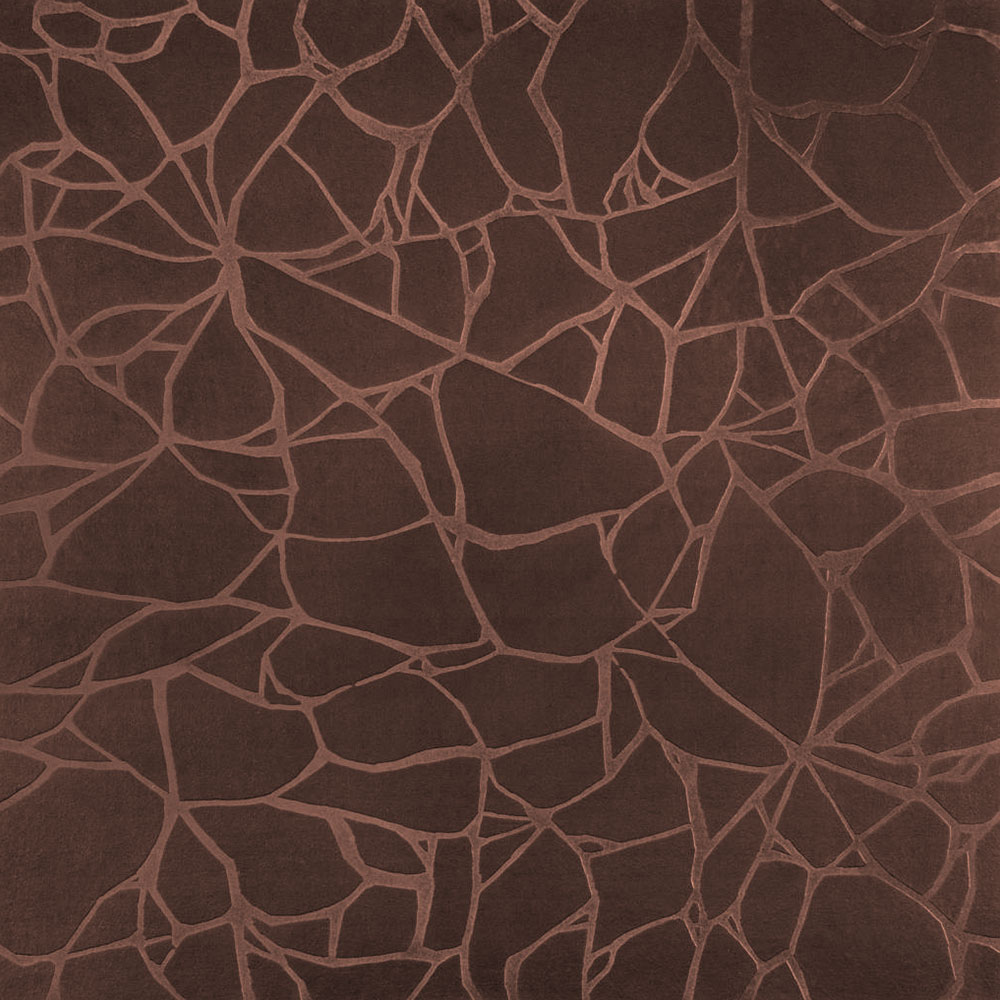 Roppe Dimensions Tile - Crackled Design Russet