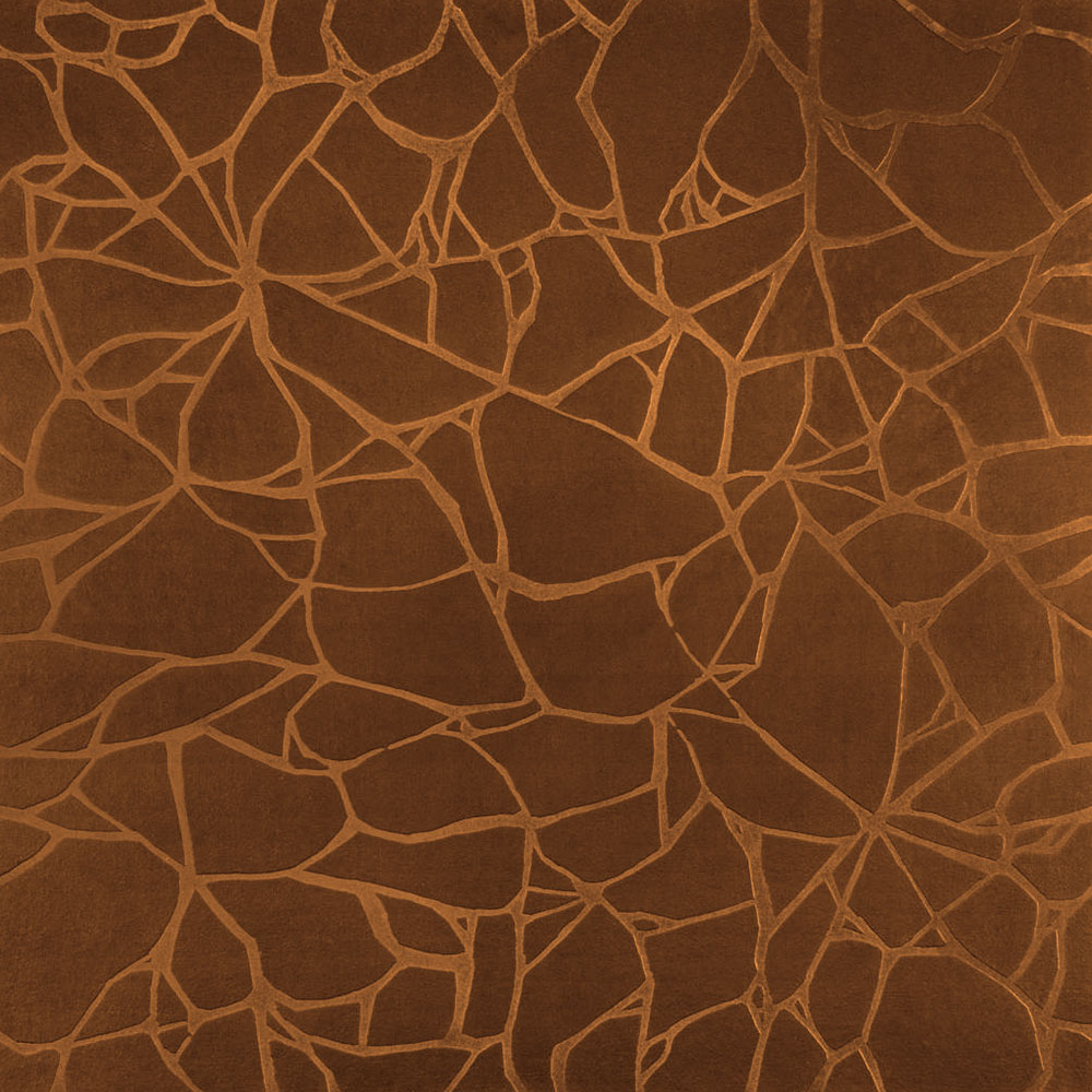 Roppe Dimensions Tile - Crackled Design Tan