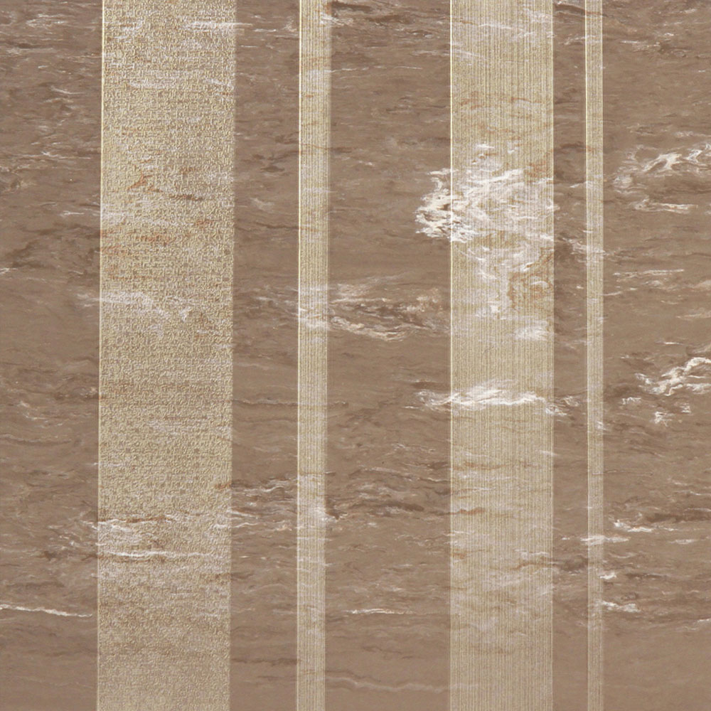 Roppe Dimensions Marbleized Stripe Design Taupe