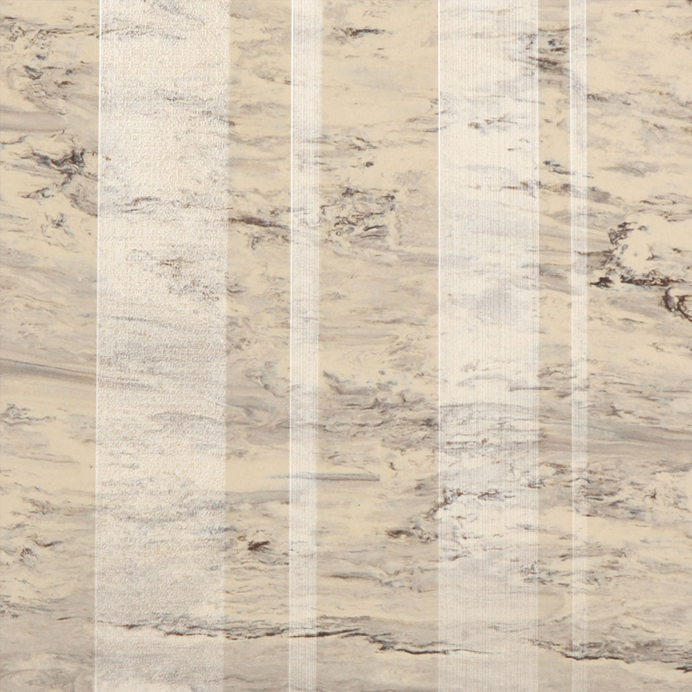 Roppe Dimensions Marbleized Stripe Design Almond