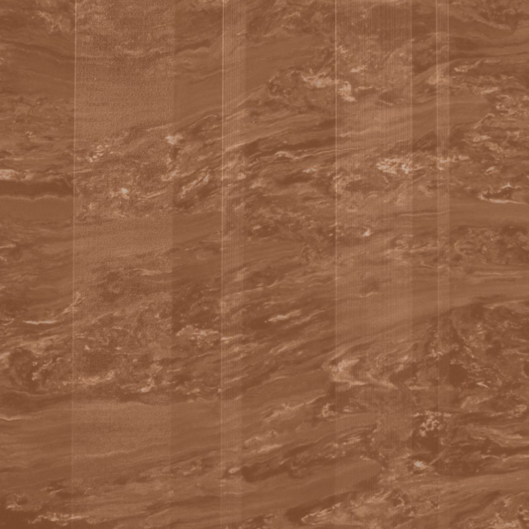Roppe Dimensions Marbleized Stripe Design Terracota