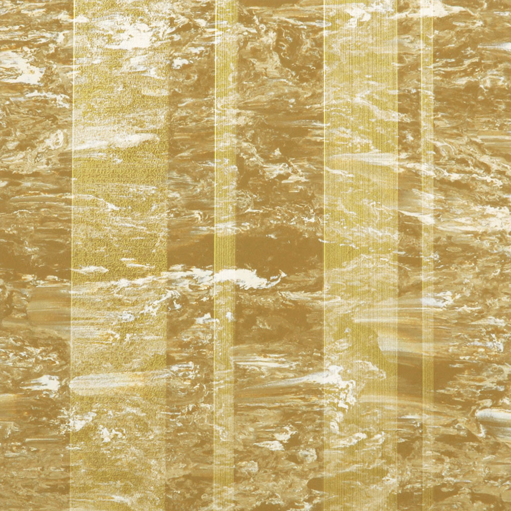 Roppe Dimensions Marbleized Stripe Design Brass