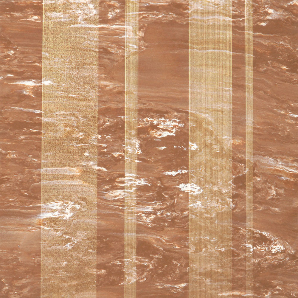 Roppe Dimensions Marbleized Stripe Design Nutmeg