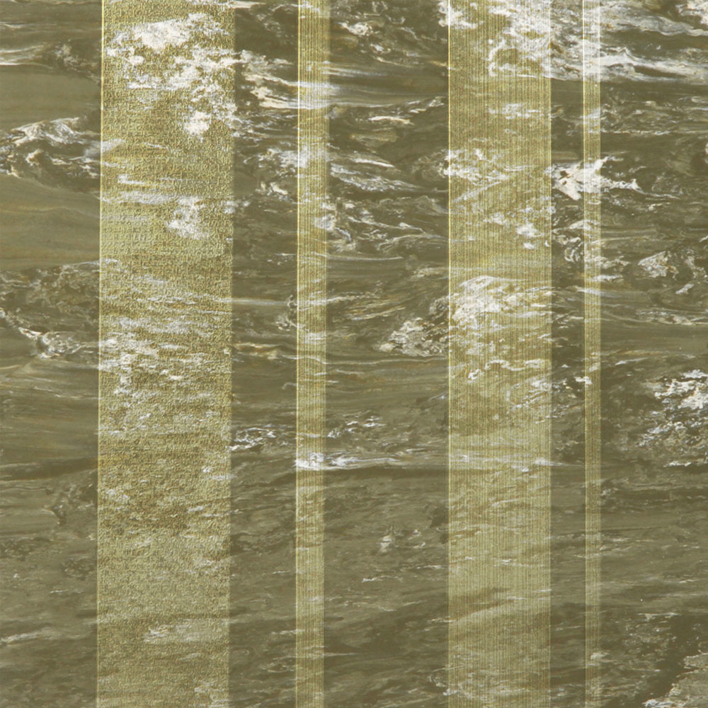 Roppe Dimensions Marbleized Stripe Design Olive