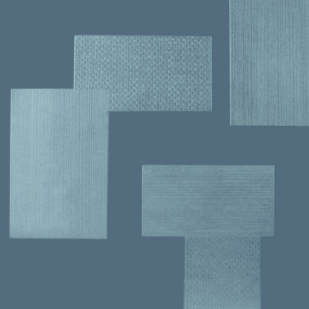 Roppe Dimensions Tile - Random Design Colonial Blue 983P165