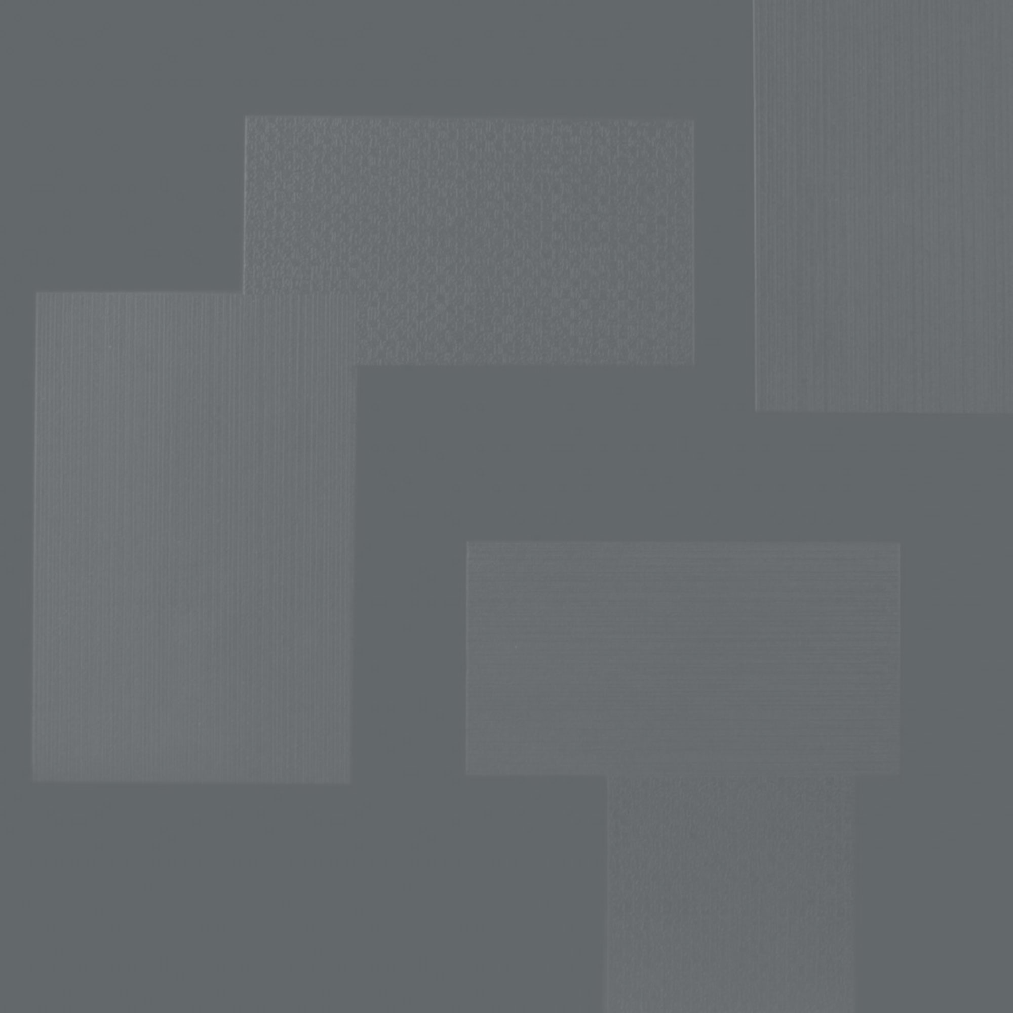 Roppe Dimensions Tile - Random Design Dark Gray 983P150