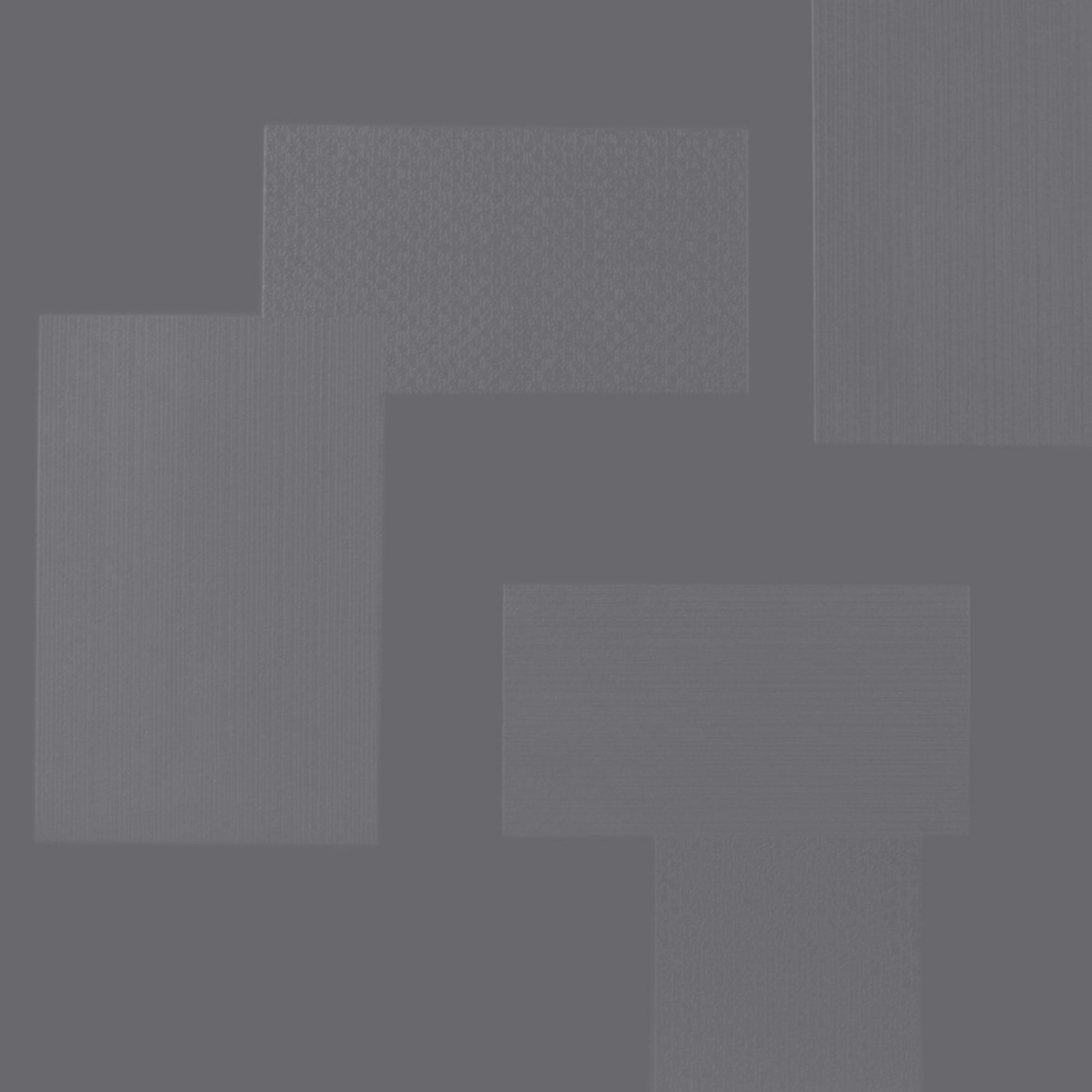 Roppe Dimensions Tile - Random Design Steel Gray 983P148