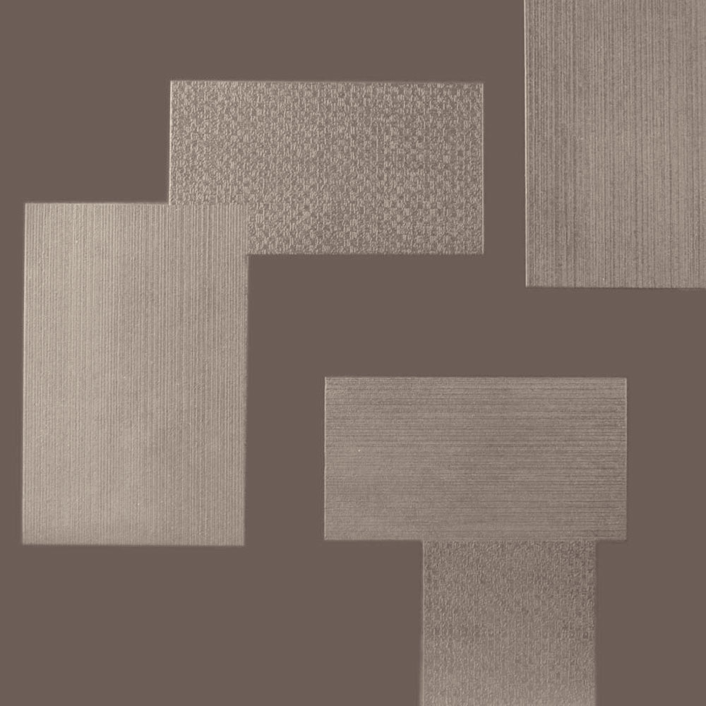 Roppe Dimensions Tile - Random Design Taupe 983P124