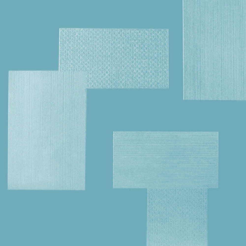 Roppe Dimensions Tile - Random Design Turquoise 983P146