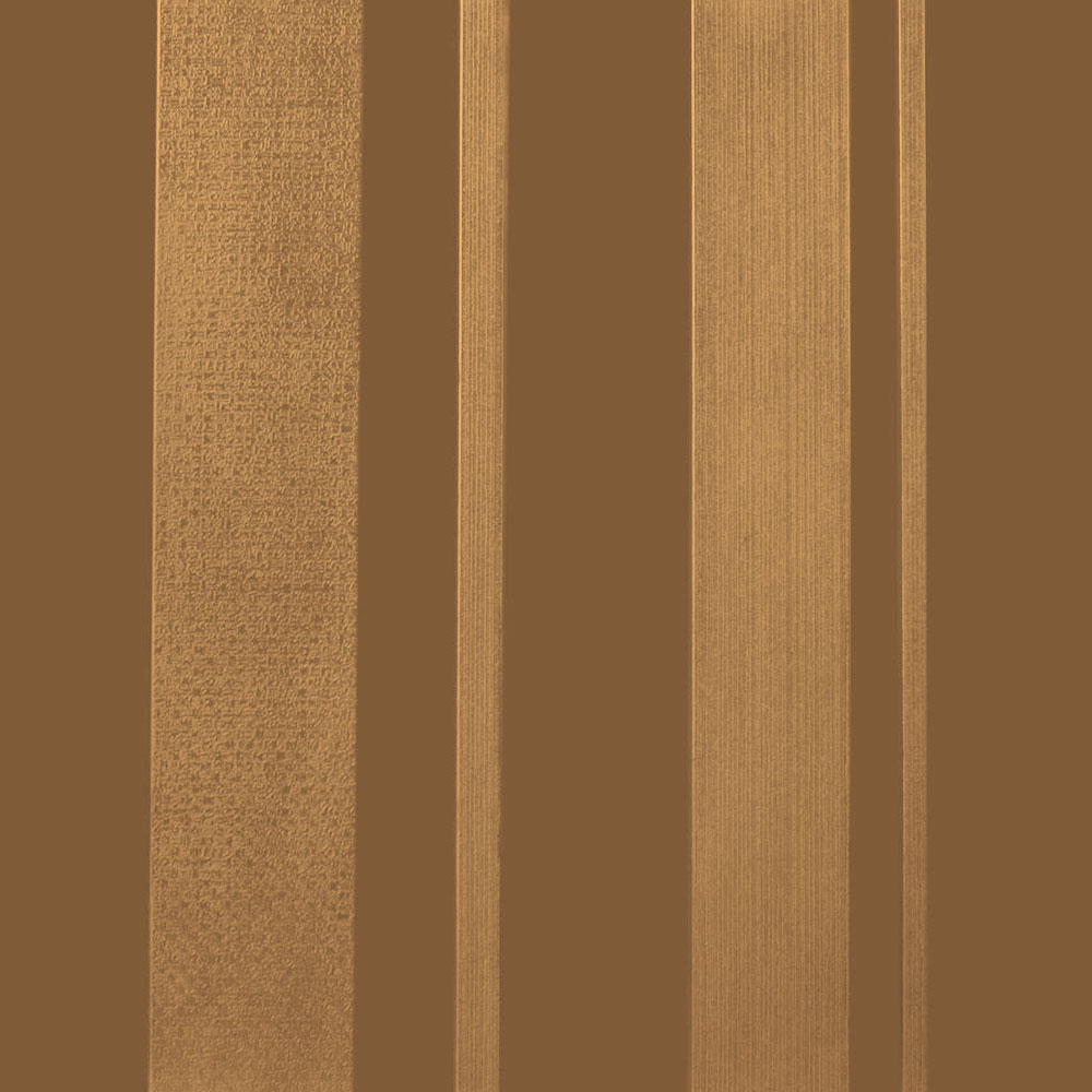 Roppe Dimensions Tile - Stripe Design Bronze 983P625