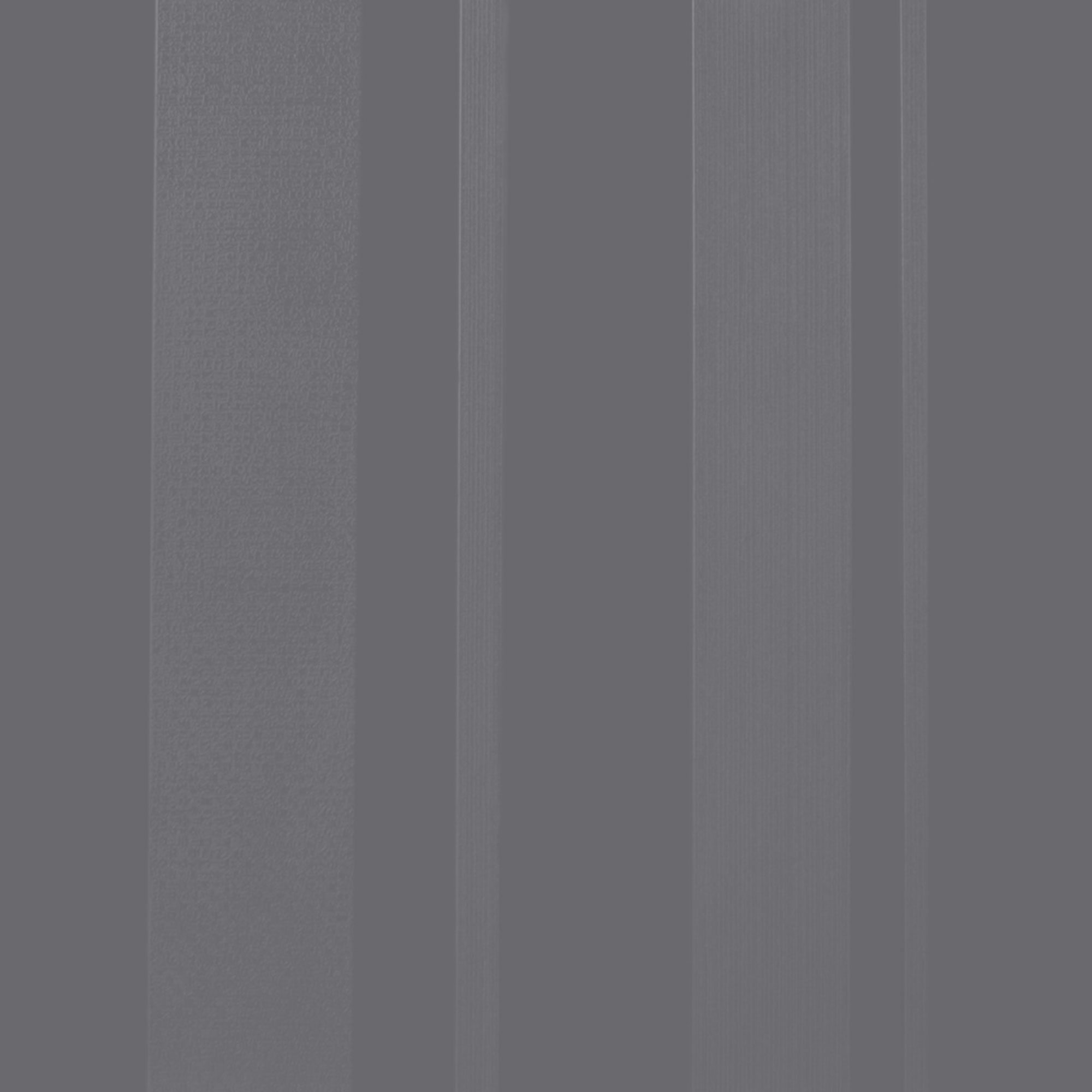 Roppe Dimensions Tile - Stripe Design Steel Gray 983P148