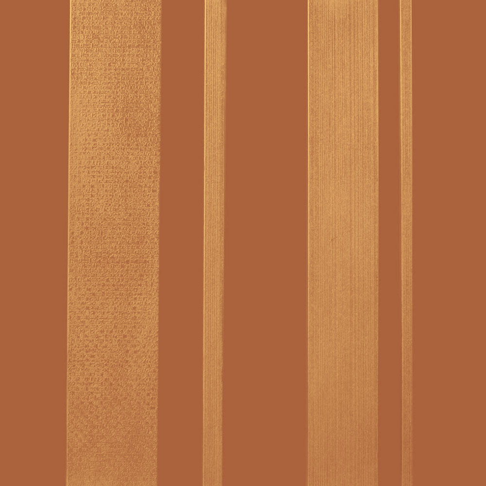 Roppe Dimensions Tile - Stripe Design Terracota 983P617