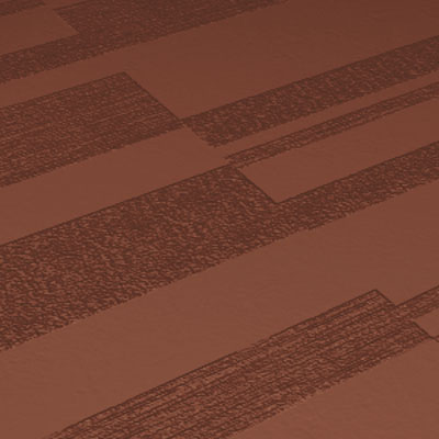 Roppe Dimensions Tile - Stripe Design Nutmeg 984-P623