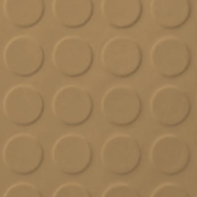 Roppe Rubber Tile 900 - Low Profile Raised Circular Design (992) Flax 992P632
