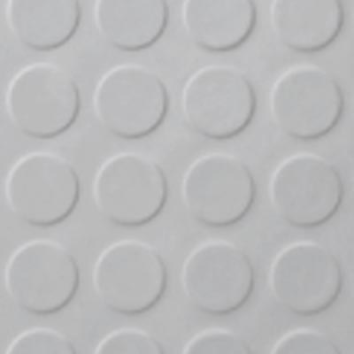 Roppe Rubber Tile 900 - Low Profile Raised Circular Design (992) Iceberg 992P197