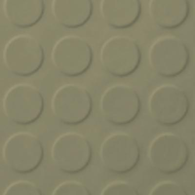 Roppe Rubber Tile 900 - Low Profile Raised Circular Design (992) Moss 992P116