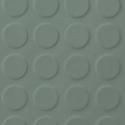 Roppe Rubber Tile 900 - Low Profile Raised Circular Design (992) Pistachio 992P113