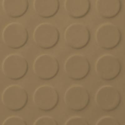 Roppe Rubber Tile 900 - Low Profile Raised Circular Design (992) Sahara 992P631