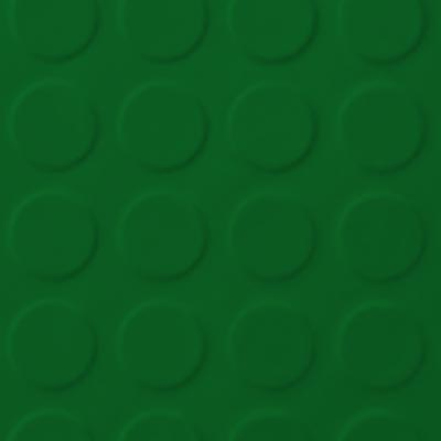 Roppe Rubber Tile 900 - Low Profile Raised Circular Design (992) Shamrock 992P628